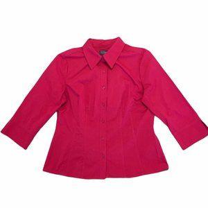 NEW Petite Covington Essentials Button Shirt LP